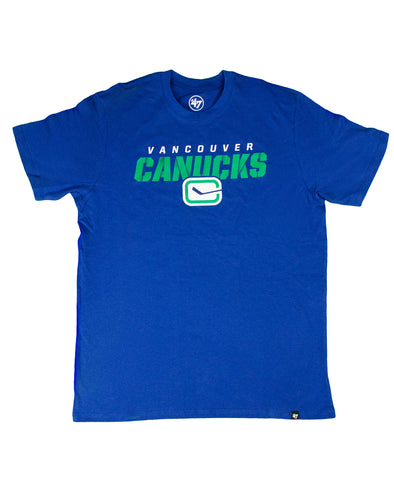 Vancouver Canucks Mens '47 Brand Traction Stick T-Shirt