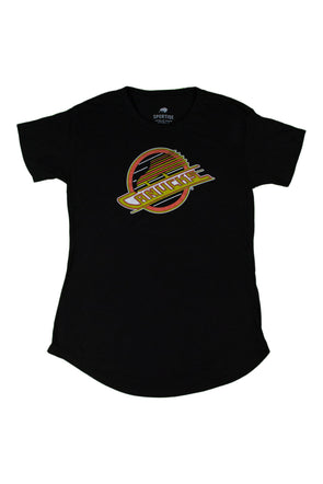Vancouver Canucks Ladies Pheobe Skate T-Shirt