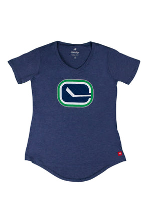 Vancouver Canucks Ladies Diana Stick T-Shirt