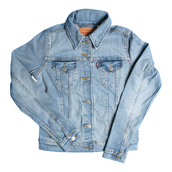 Vancouver Canucks Men's Levi's Blank Jean Jacket