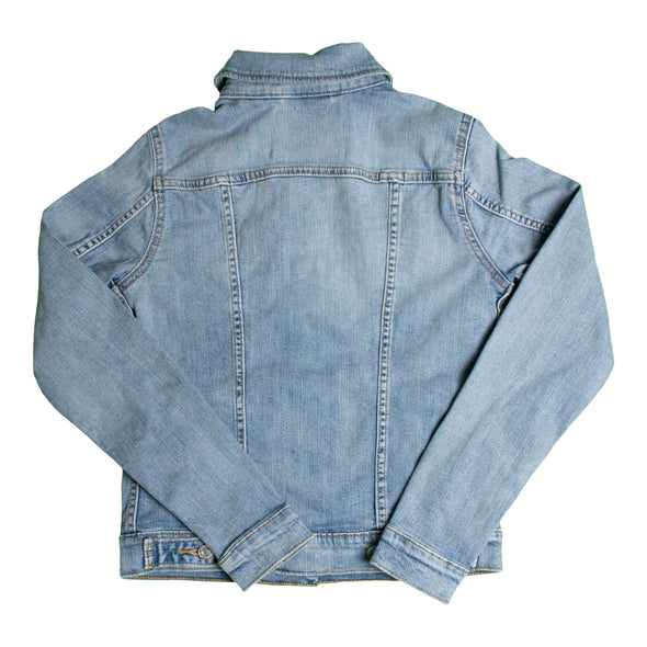 Vancouver Canucks Ladies's Levi's Blank Jean Jacket