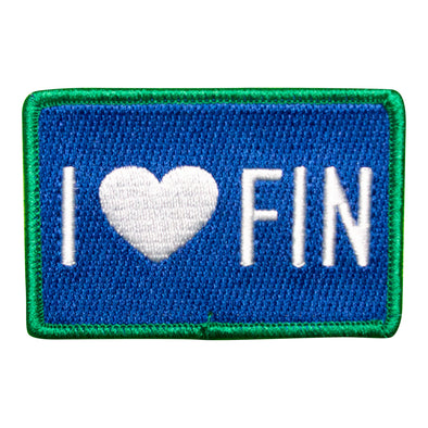 I Love Fin Patch