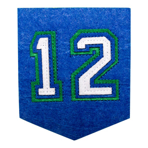 12 Banner Patch