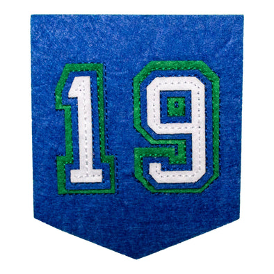 19 Banner Patch
