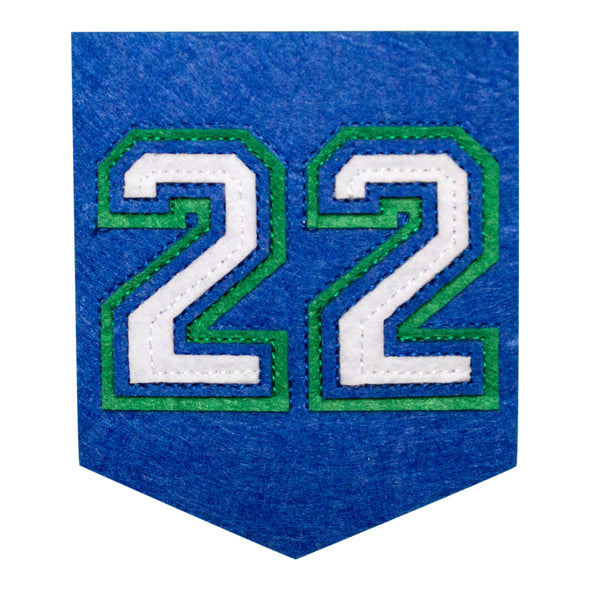 22 Banner Patch