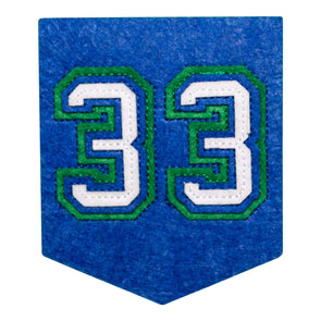 33 Banner Patch