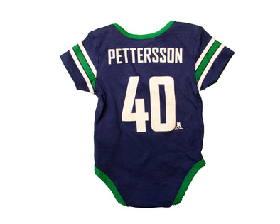 Vancouver Canucks Infant Pettersson Sleep Onesie