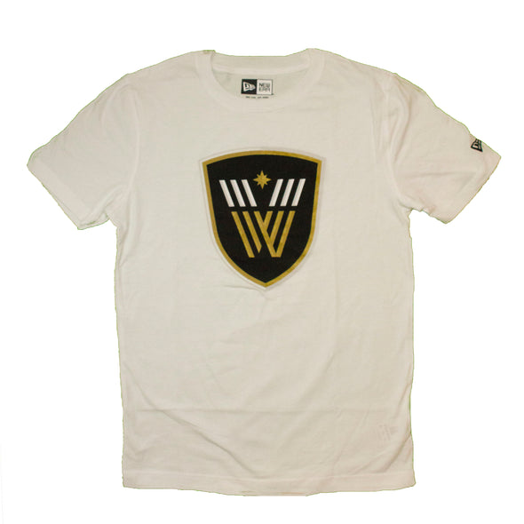 Vancouver Warriors Mens Logo T-Shirt (White)