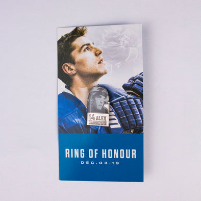 Alex Burrows Ring of Honour Commemorative Pin