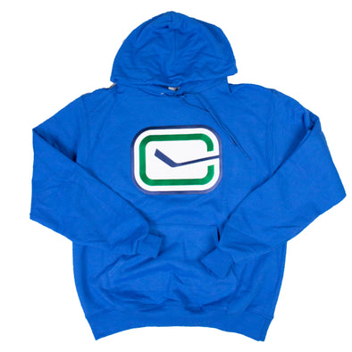 Vancouver Canucks Champion Stick Playbook Hoodie (blue)