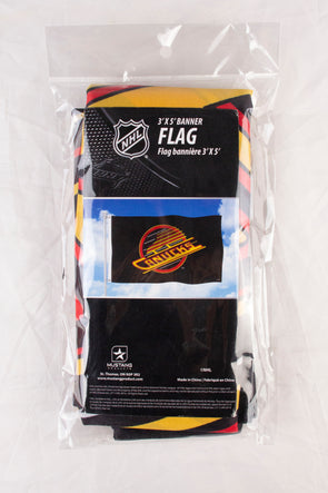 Vancovuer Canucks 3x5 Skate Flag