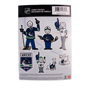 Vancouver Canucks Orca Family Sticker Set