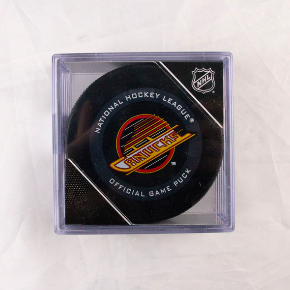 Vancouver Canucks Official Skate Puck