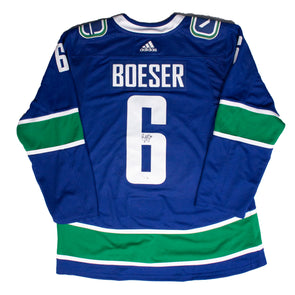 Boeser Signed Jersey
