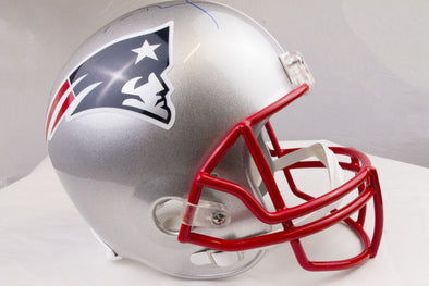 Tom Brady Signed Patriots Helmet