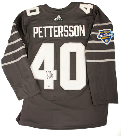 Pettersson All-Star 2020 Signed Jersey
