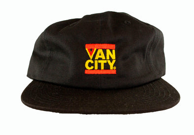 Vancouver Canucks Keefer Flying V Hat (Black)