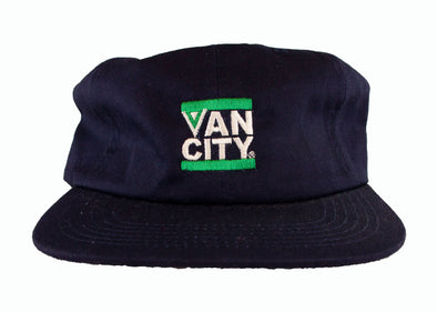 Vancouver Canucks Keefer Flying V Hat (Blue)