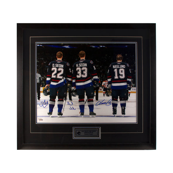 Sedins & Naslund 16 x 20 Photo