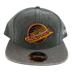Vancouver Canucks New Era 9Fifty Skate Hat Grey - Vanbase