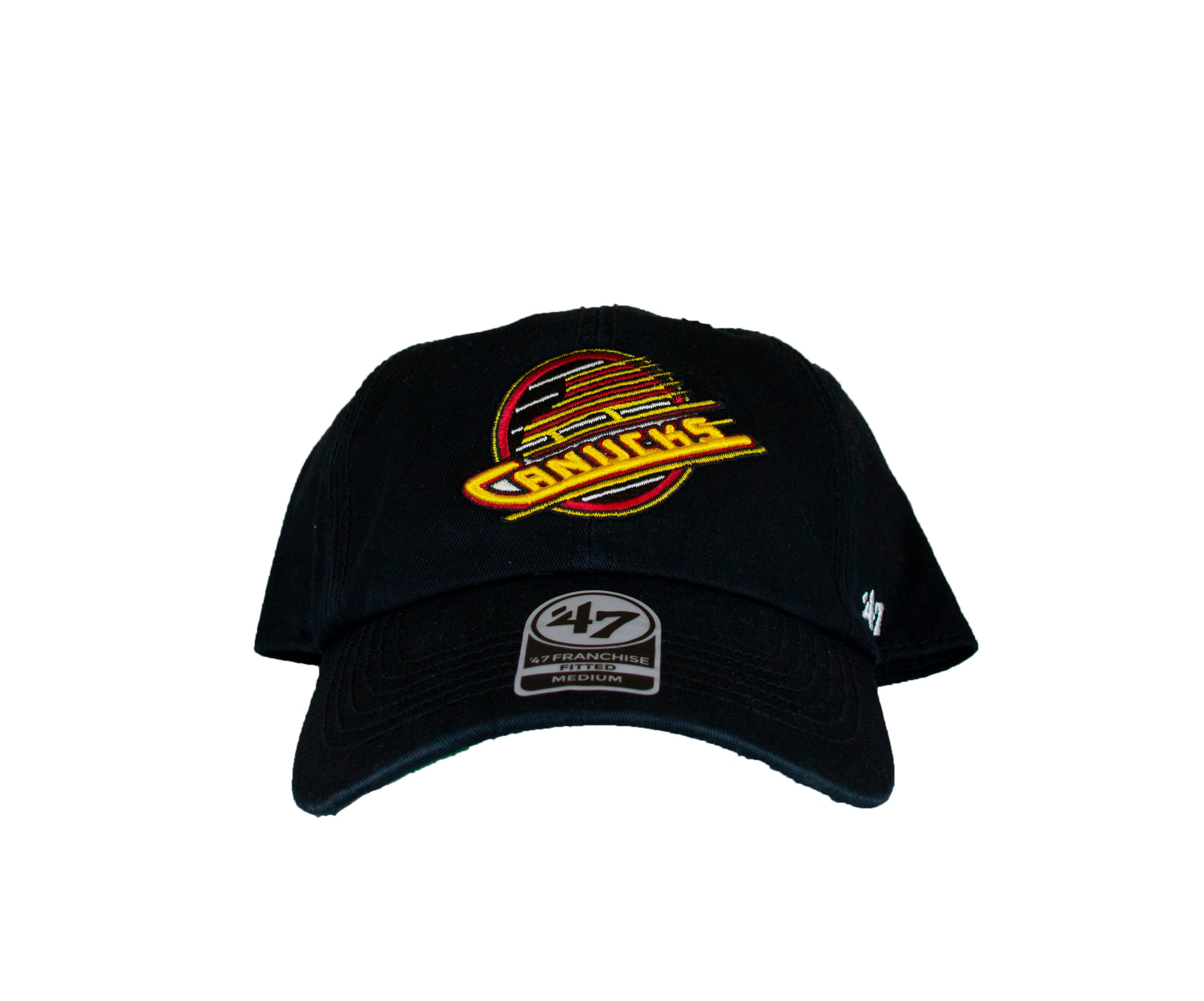 Vancouver Canucks 47  Brand Skate Fitted Hat – Vanbase d61a00b8b73