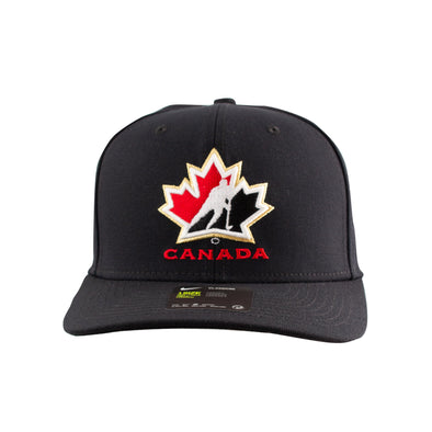 Hockey Canada Black Dri-Fit Wool Hat - Vanbase