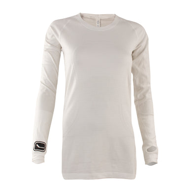 Vancouver Canucks lululemon White Run Swift Long Sleeve - Vanbase