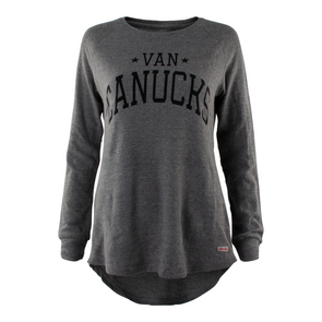 Vancouver Canucks Womens Sportiqe Tegan Long Sleeve - Vanbase