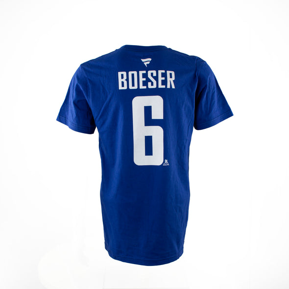 Vancouver Canucks B. Boeser Fanatics Name & Number T-Shirt - Vanbase