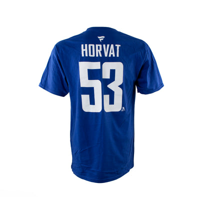 Vancouver Canucks B. Horvat Fanatics Name & Number T-Shirt - Vanbase
