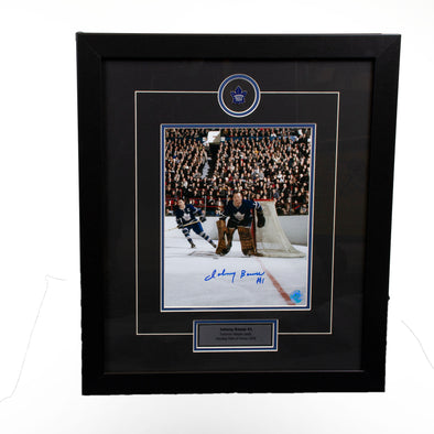 Johnny Bower Maple Leaf Gardens 8x10 - Vanbase