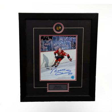 Bobby Hull Black Hawks Golden Jet Hockey 8x10 - Vanbase