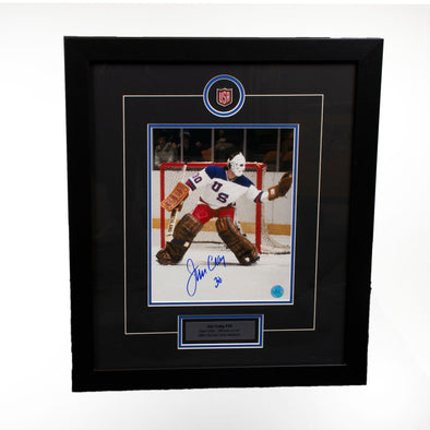 "Jim Craig  ""Miracle On Ice"" Signed 8x10 Photo Framed"