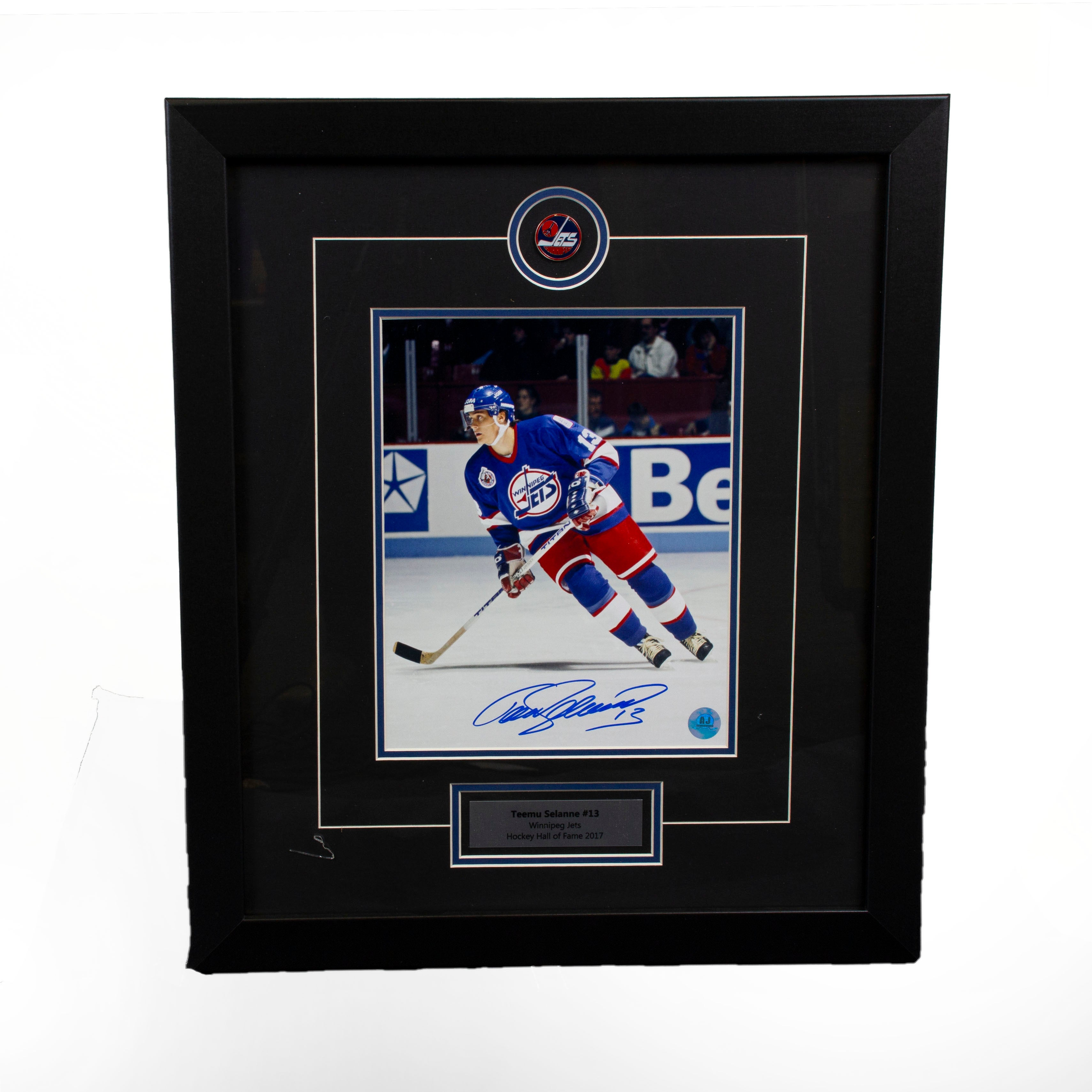 premium selection 822dd 4b675 Teemu Selanne Jets Action 8x10