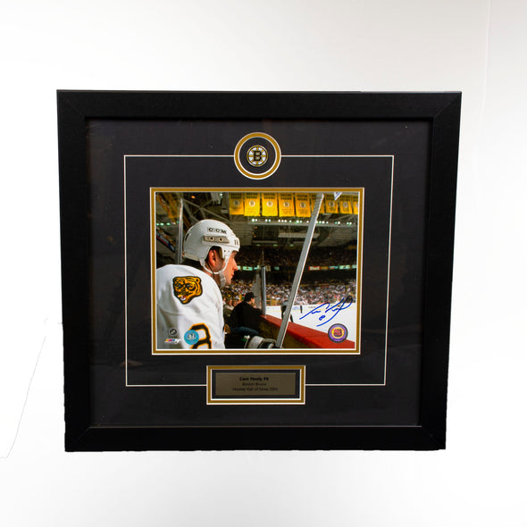 Cam Neely Bruins  Penalty Box Stare 8x10 - Vanbase
