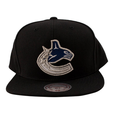 Vancouver Canucks Mitchell & Ness Fused Orca Snapback - Vanbase