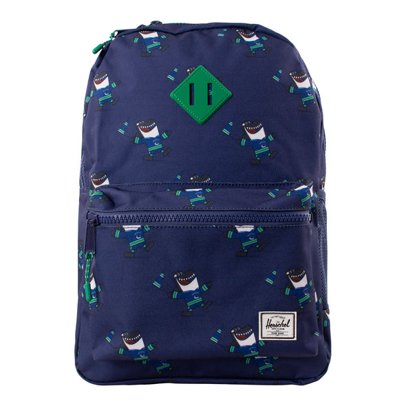 Vancouver Canucks Herschel Fin Heritage Youth Backpack - Vanbase