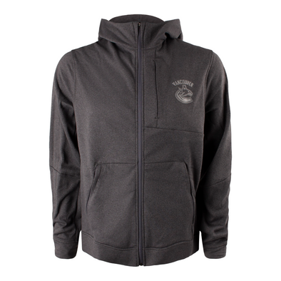 Vancouver Canucks Mens lululemon City Sweat Zip Hoodie - Vanbase