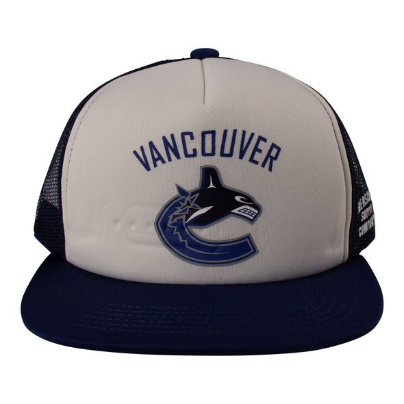 Vancouver Canucks Herschel Youth Orca Whaler Mesh Hat - Vanbase