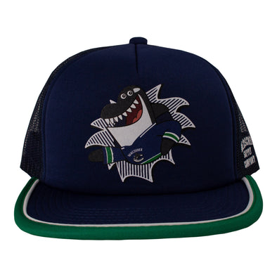 Vancouver Canucks Herschel Youth Fin Whaler Hat - Vanbase