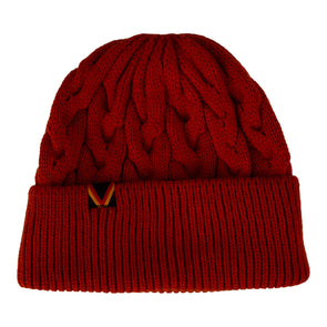 Vancouver Canucks Herschel Flying V Knoll Beanie (Orange)