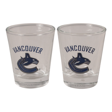 Vancouver Canucks Shot Glass Set (Set of 2) - Vanbase