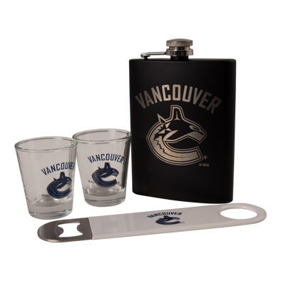 Vancouver Canucks Orca Bar Gift Set - Vanbase