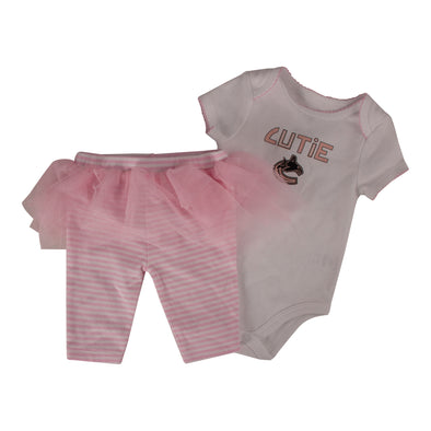 Vancouver Canucks Infant Tutu & Leggings Set - Vanbase
