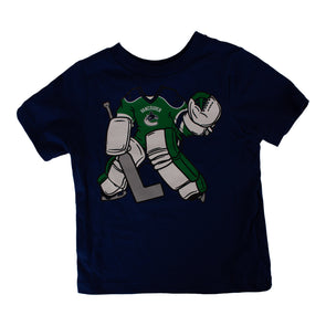 Vancouver Canucks Toddler Goalie T-Shirt - Vanbase