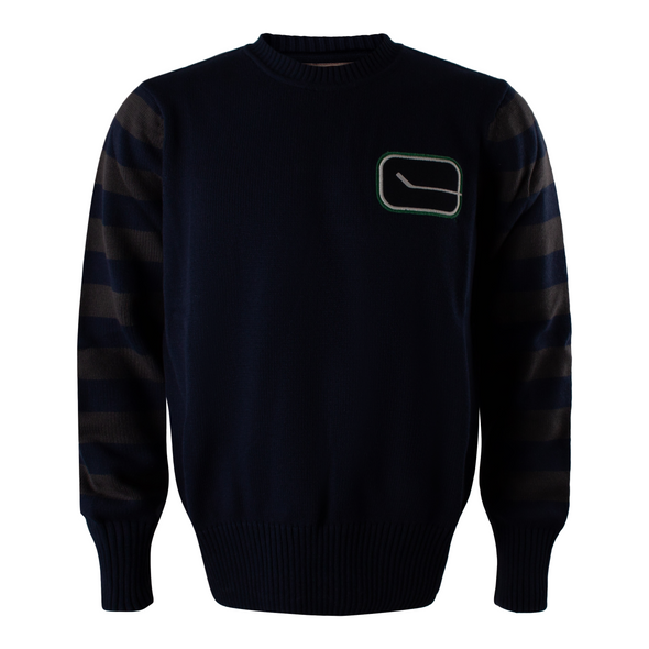 Canucks Mens '47 Brand Game Lock Banner Sweater - Vanbase