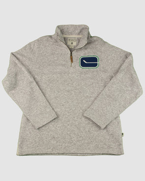 Canucks Mens CCM NHL 1/4 Zip - Vanbase