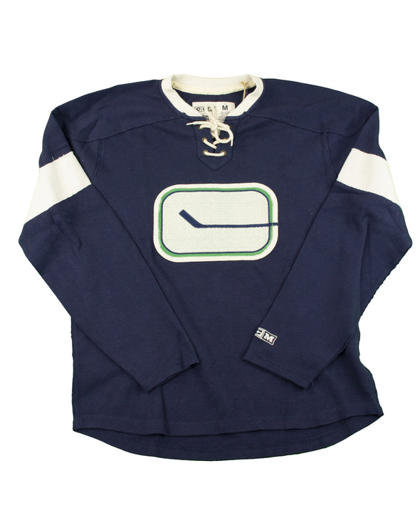 Canucks Mens CCM Stick Fleece - Vanbase