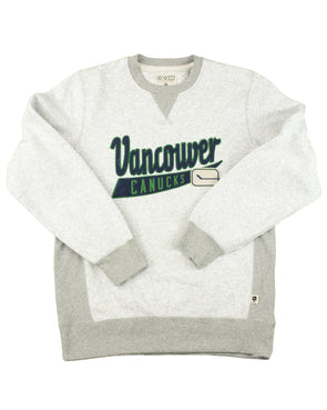 Canucks Mens CCM Finished Fleece Crew - Vanbase