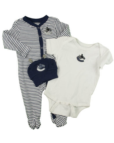Canucks Infant Ring Around 3 Piece Orca Set - Vanbase